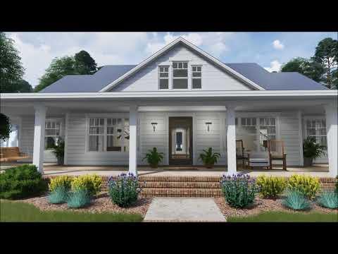 Architectural Designs Modern Farmhouse Plan 16901WG Virtual Tour