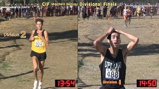 2019 XC - CIF-ss Finals - D1 & D2 Side-By-Side
