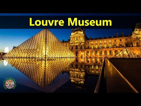 Best Tourist Attractions Places To Travel In France | Louvre Museum Destination Spot