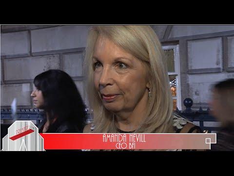 Amanda Nevill  - CEO BFI - praises Tom Hiddleston - BFI LFF Award Interview