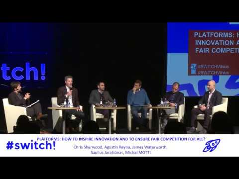 Switch! conference - panel on online platforms