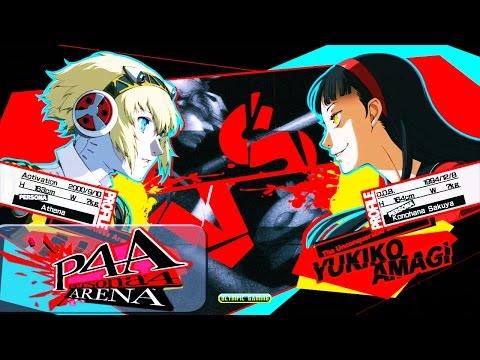 Persona 4 Arena Ultimax: Rodomu (Aigis) Vs Reu0302 (Shadow Yukiko)  PSN HD