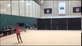 Nastasya Generalova - 2015  USA Rhythmic Challenge - ROPE  (Lake Placid, NY March 4-8)