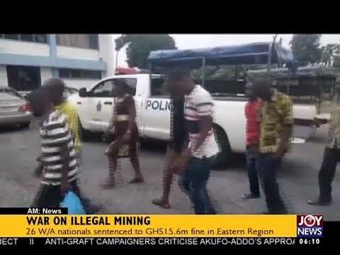 War on Illegal Mining - AM News on JoyNews (31-8-17)