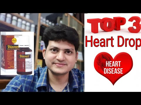 Top 3 German Homeopathic Heart Drop for Heart diseases ?? heart attack ! irregular pulse rate !!