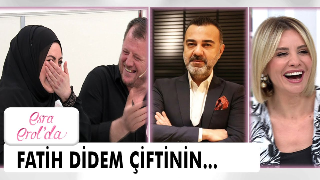 Esra Erol'dan Fatih Didem çiftine müjdeli haber - Esra Erol'da 28 Mayıs 2021