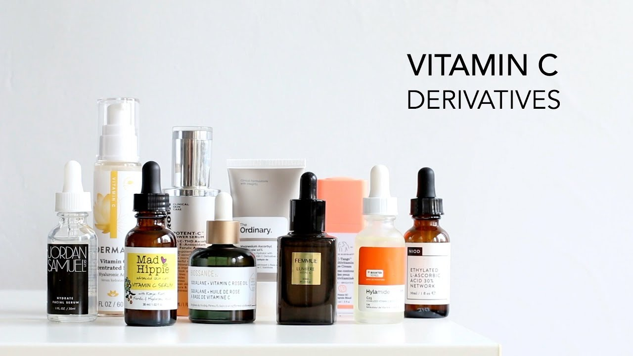 Vitamin C Derivatives - Which One is For You? - YouTube