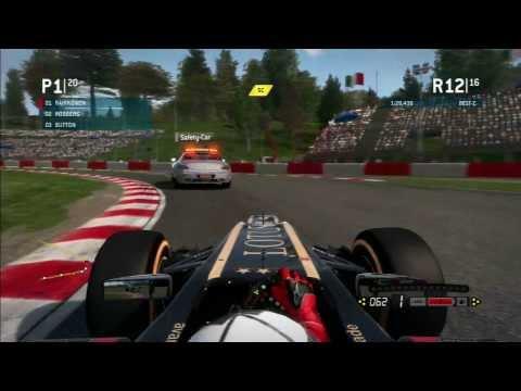 F1 2013 Imola Rennen mit Safety Car PS3