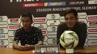 Seto & Wahyu Sukarta Post Match Press Conference – Piala Presiden 2019