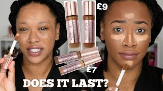 REVOLUTION CONCEAL & DEFINE FOUNDATION REVIEW, WEAR TEST & SWATCHES!