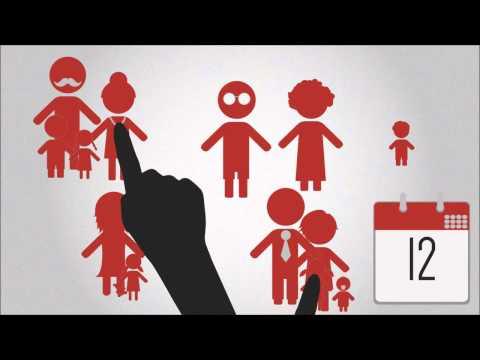 Kinderopvangsysteem met beurtrollen