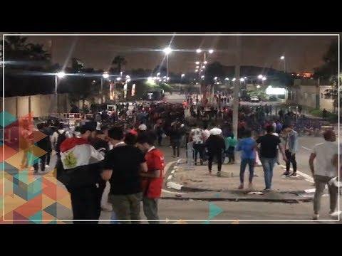 شاهد.. عائلات مصرية تؤازر المنتخب الأوليمبي بـ-الطبلة- و-الزمارة-  - 20:59-2019 / 11 / 14