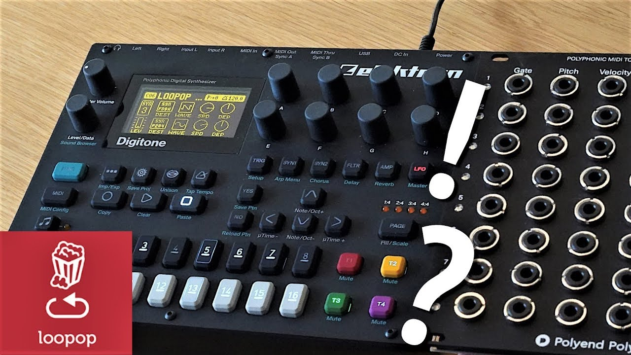 midi to cv and back can your regular synth become semi modular youtube. Black Bedroom Furniture Sets. Home Design Ideas