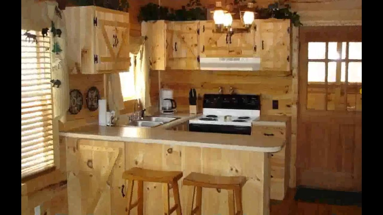 kitchen cabinets storage floor runners cabin rustic decor - new youtube