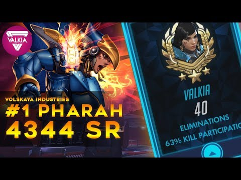 [Overwatch] Grandmaster Rank #1 Pharah: 63% / 40 Elims