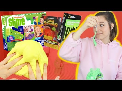 I Tried To Find The Best Slime Kit!!! *the worst slime I've ever seen*
