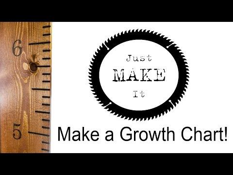 Make a Wooden Growth Chart