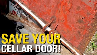 Rusted Cellar Door - Save It Don't Scrap It! Eastwood