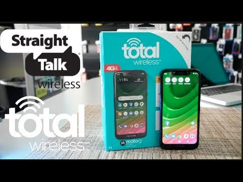 MOTO G7 OPTIMO Unboxing and Mini Review For Total Wireless\Straight talk