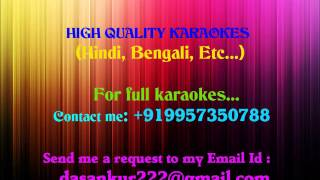 JHUMKA GIRA RE Karaoke By Ankur Das 09957350788