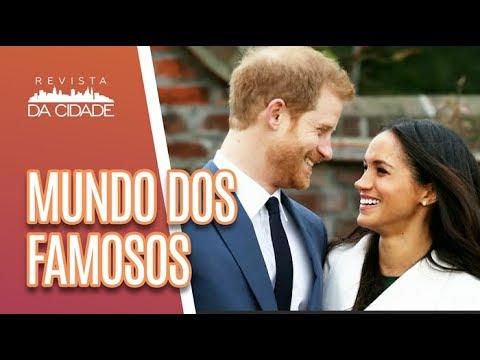 Ex Japonês Do Pânico PRESO + Meghan Markle E O Casamento Real - Revista Da Cidade (18/05/18)