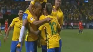 Brasil vs Chile (3-0) Eliminatorias Sudamericanas Rusia 2018 Fecha 18