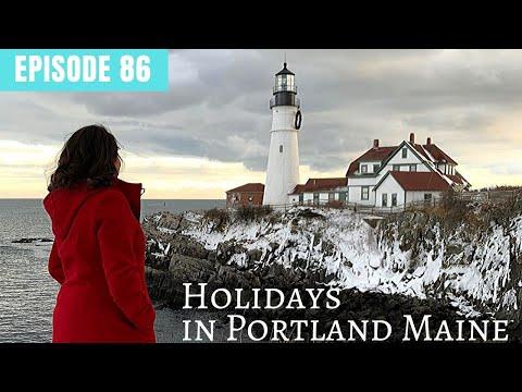 Holiday Getaway in Portland Maine
