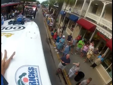 Riding on Big Thunder for the Key West Offshore Boat Parade in 2011
