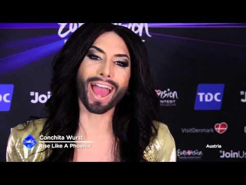 Conchita Wurst Wants To Thank You!