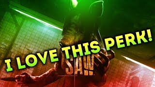 Dead by Daylight SAW DLC WITH...THE PIG! - I LOVE THIS PERK!