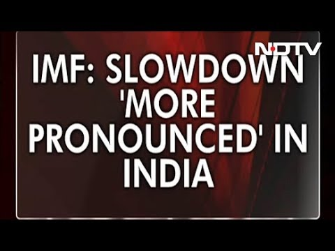 Effects Of Global Economic Slowdown 'More Pronounced' In India: IMF Chief
