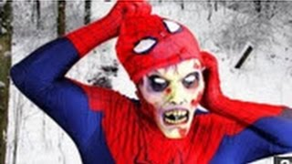 Spiderman  Pink Spidergirl VS Spiderbaby's Poo! Farts  Potty Training! Superheroes in Real Life :)