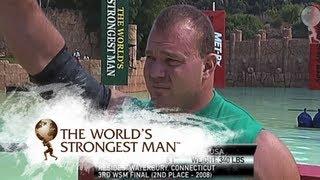 2010 Loading Race: Kokylaev v Poundstone   World's Strongest Man