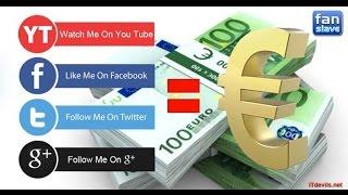 Kiếm tiền trên mạng từ 5 - 7 Euro một ngày với trang Fanslave uy tín