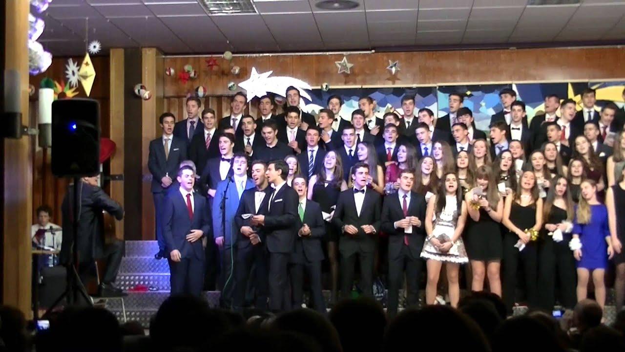 Esta navidad villancicos 2014 2 bachillerato colegio - Colegio escolapias madrid ...