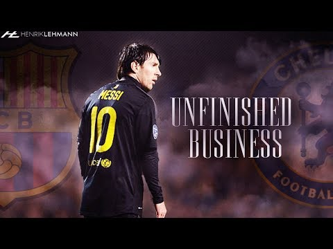 Chelsea vs FC Barcelona Promo ● Unfinished Business ● 20.02.2018