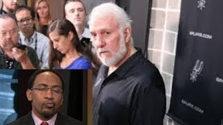 GREGG POPOVICH ETHERS STEPHEN A. SMITH AND OTHERS FOR LYING ON KAWHI LEONARD AFTER RAPTORS TRADE!