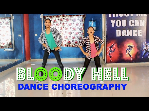 Bloody Hell | Dance | Rangoon # Easy step # Vicky Patel Choreography | INDIA
