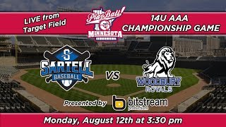 Playball Mn 14u Aaa Championship -live From Target Field