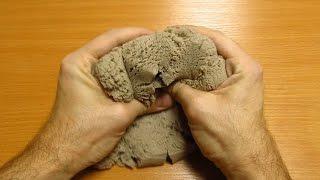 Кинетический песок, обзор. Kinetic sand.