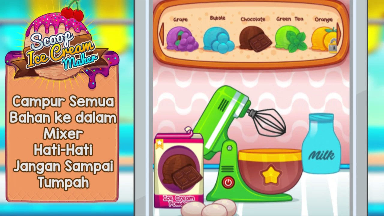 Scoop Ice Cream Game Seru Banget Di Hp Android Download Gratis Di