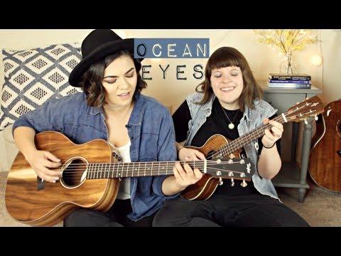 Ocean Eyes - Mackenzie Johnson ft. Jeanette Lynne (Billie Eilish Cover)