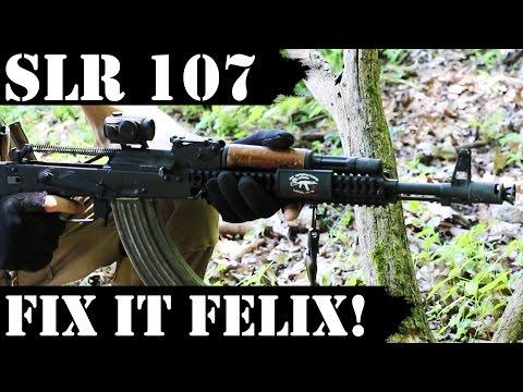 SLR107 3000rds Later - Fix it Felix!