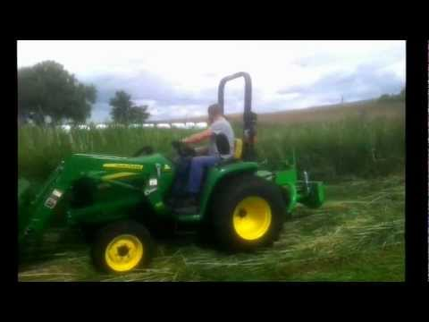 john deere 3036e talex m hwerk 1 35m youtube. Black Bedroom Furniture Sets. Home Design Ideas