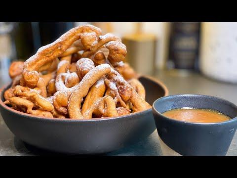les-beignets-fous-et-sauce-caramel-facile
