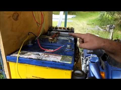Off Grid Solar Power - DIY Cheap Battery Bank
