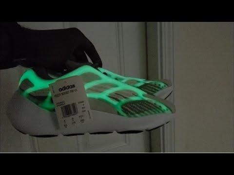 Adidas Yeezy Boost 700 v3 Glow Test