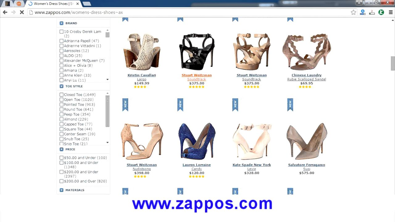 Good online shopping websites
