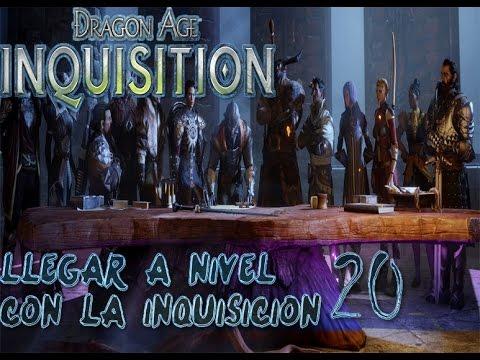 DRAGON AGE INQUISITION-SUBIR NIVEL 20 CON LA INQUISICIÓN RAPIDO