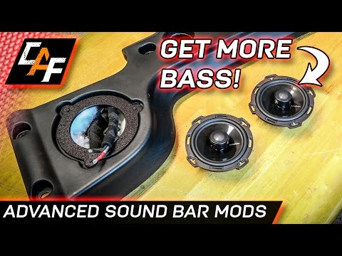 Jeep Soundbar Sound Upgrades - add MORE bass! - CarAudioFabrication